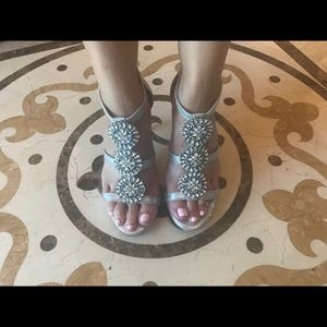 Antonio Melani embellished Heels